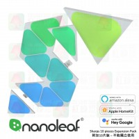 nanoleaf sharps mini triangle 10 panels expansion pack