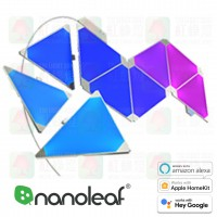 nanoleaf sharps triangle 9 panels