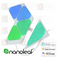 nanoleaf sharps triangle mini 5 panels