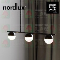 nordlux contina black pendant lamp 3 heads