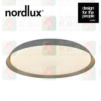 nordlux piso grey led ceiling light