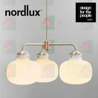 nordlux ratio 3 heads glass pendant lamp