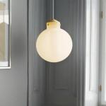 nordlux ratio 30 round glass pendant lamp