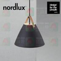 nordlux strap 27 black pendant leather strap