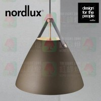 nordlux strap 36 beige pendant leather strap