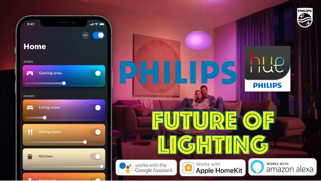 Main Page Slides 2021 Philips hue lighting