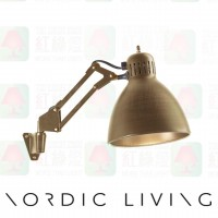 nordic living Archi-W1-wall-mounted_brass_wall lamp