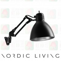 nordic living Archi_W1_with_Wall_Mount_BlackSilver wall lamp