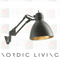 nordic living Archi_W1_with_Wall_Mount_ForestGreen_wall lamp