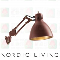 nordic living Archi_W1_with_Wall_Mount_MapleRed_wall lamp