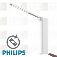 philips 66133 amber rechargeable led light table light